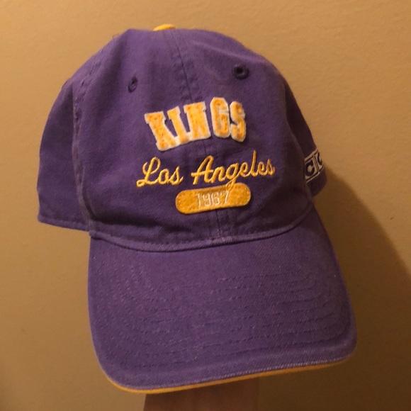 premium selection 0028c 16925 Vintage LA Kings Cap. M 5ab5e6b300450ffc89481426